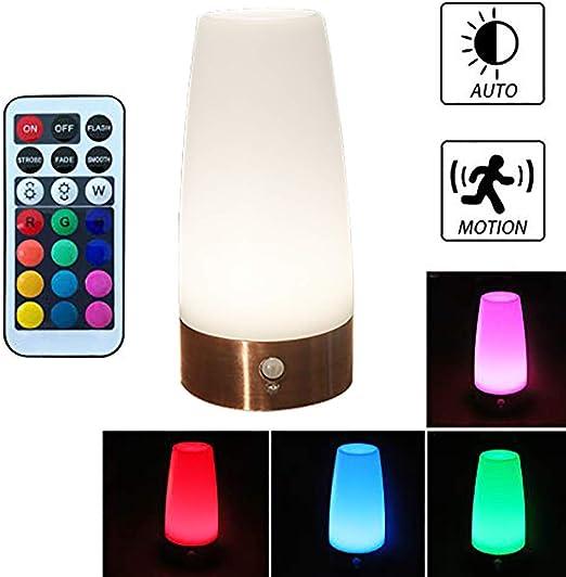 Mini Wireless IR Motion Sensor LED Night Light Bedroom Closet Corridor Wall Lamp