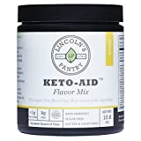 Lincoln's Pantry Keto-Aid (Banana) - Powdered Flavor Mix - <1g Net Carb, Sugar Free, Non-GMO, Gluten Free, Soy Free, Dairy Free, No Artificial Ingredients, Excellent Source of Fiber