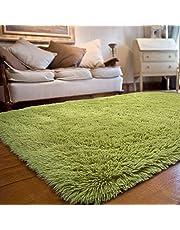 JOYFEEL Soft Fluffy Area Rugs for Bedroom Living Room Carpets for Nursery Decor Kids Room