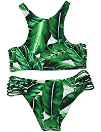 Cupshe Fashion Women's Tropical Leaves Printing Tank...