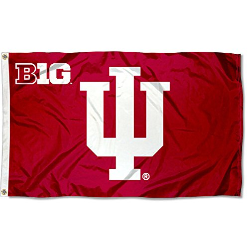 - College Flags and Banners Co. Indiana Hoosiers Big 10 3x5 Flag