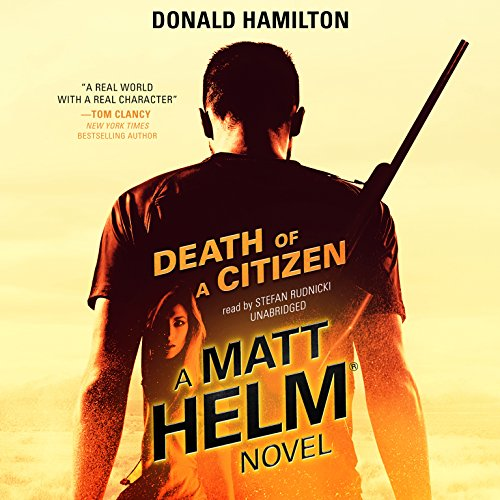 Death of a Citizen: Matt Helm, Book 1
