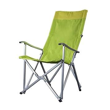 LLSZ Silla Plegable, sillas de Camping, Silla de Viaje ...