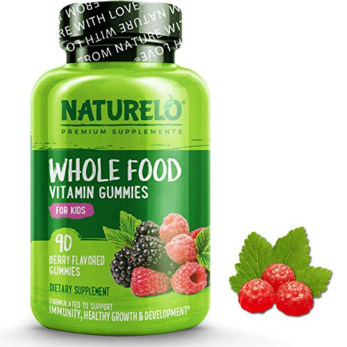 Naturelo Gummy Multivitamin for Children, Berry