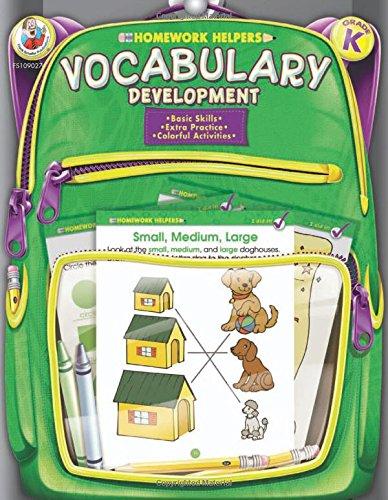 Vocabulary Development, Grade K (Homework Helper)