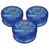 VO5 Extreme Style Matt Clay, 75 ml, Pack of 3