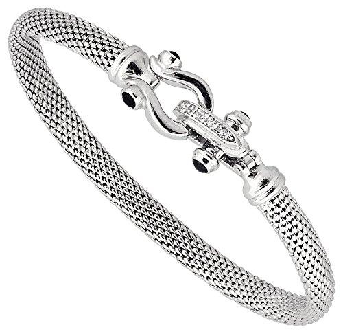 Una Storia - BR13459 : Bracelet Femme Argent et Oxyde de zirconium