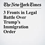 3 Fronts in Legal Battle Over Trump's Immigration Order | Adam Liptak