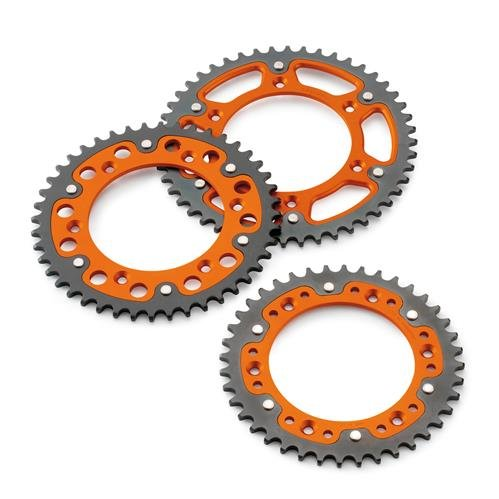 NEW KTM 2K REAR STEALTH SPROCKET 85 105 SX XC SXS ALL YEAR 48 49 50 TOOTH 4701005114804, 4701005114904, 4701005115004 (48)