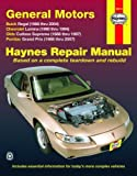by unknow General Motors Buick Regal, Chevrolet Lumina,Olds Cutlass Supreme,Pontiac Grand Prix, 1988-2007 (Hayne's Automotive Repair Manual) (2009) Paperback