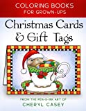 Christmas Cards & Gift Tags: Coloring Books for