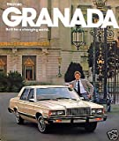 1981 Ford Granada new vehicle brochure