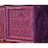Savon de Marseille (Marseille Soap) with Pure Crushed Local Flowers from France (Grapeseed)