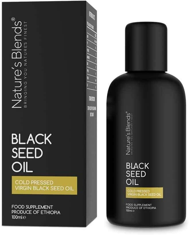 Ethiopian Cold Pressed (First Press Only) Black Seed Oil Non-GMO Vegan Rich Source of Omega 6, 9 and Thymoquinone