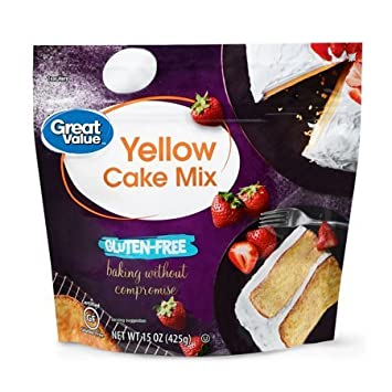 Amazon.com  Gluten,Free Yellow Cake Mix, 15 oz, is gluten