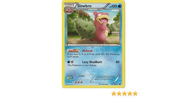 Slowbro 24//108 Dark Explorers Set Pokemon Card NM