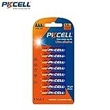Pkcell AAA Alkaline Batteries LR03 LR3 E92 AM4 MN2400 (8)