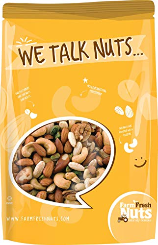 (Deluxe Mixed nuts Roasted - Himalayan Salt (2 LB))