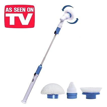 BN Houseware - Spin Scrubber. 5420.Cepillo eléctrico giratorio profesional 15612a379c6c
