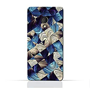 AMC Design Alcatel U5 3G TPU Silicone Protective Case with Art Abstract Pattern