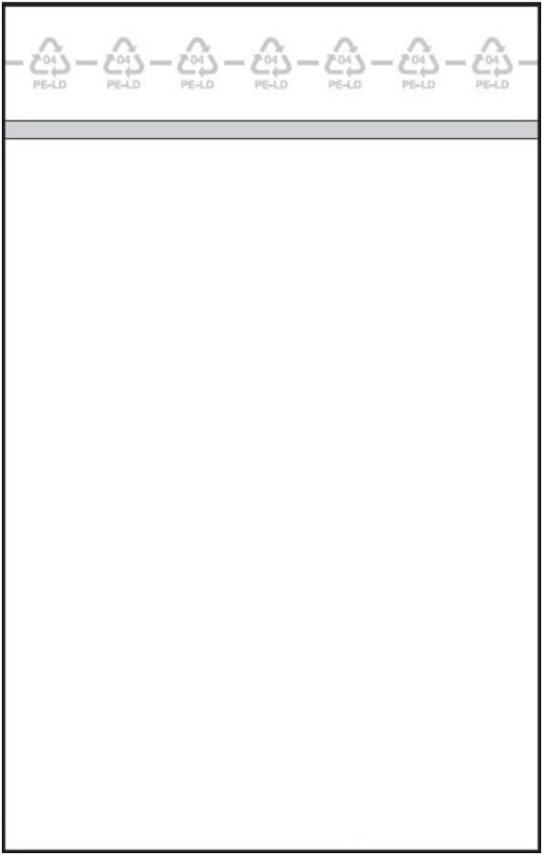 Gr/ö/ße: 60 x 80 mm 1.000 PolyZip-Beutel St/ärke: 50 m/µ Kunststoffbeutel