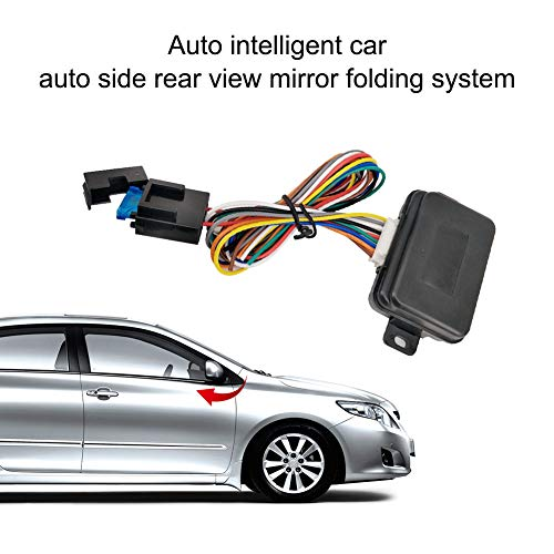 ROPALIA Universal car Rearview Mirror Folding Controller Auto Rearview Mirror Automatic Lock Folding System Module