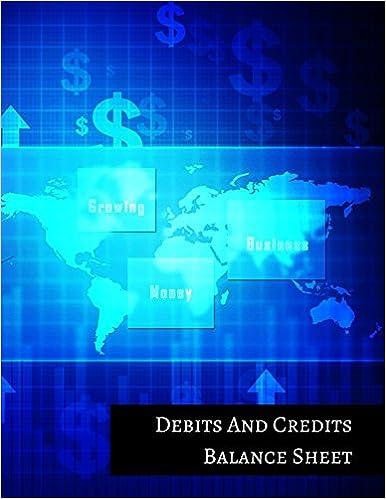 Debits And Credits Balance Sheet