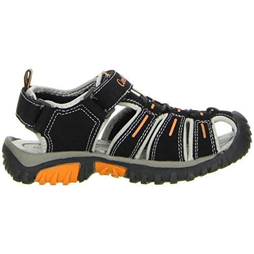 ConWay Kinder Trekkingsandalen schwarz Schwarz