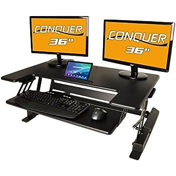 Amazon Com Desktop Tabletop Standing Desk Adjustable