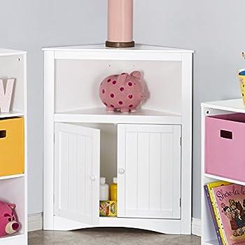 RiverRidge Kids 02-140 2-Door Corner Cabinet - White