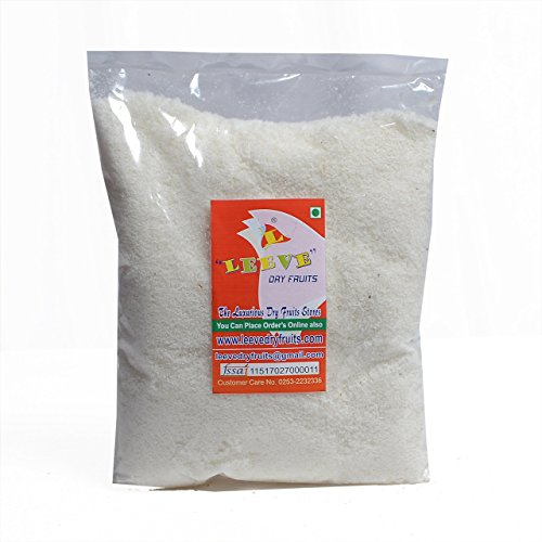 Leeve Dry Fruits Coconut Desiccated - 400 Gms by Leeve Dry Fruits