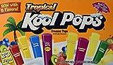 Kool Pops Tropical Freezer Pops 20 Pops - Pack of 2