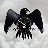 Game of Thrones Night's Watches Vinyl Record Wall Clock - Get unique of home room wall decor - Gift ideas for boys and men – Unique Art Design