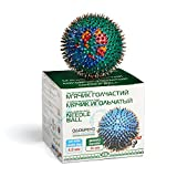 Lyapko Premium Acupuncture Needle Massage Handball. Reflexology, Therapy & Myofascial Release, Deep Tissue Trigger, Feet, Back, Hand, Muscles, Acupressure & All Over Body to Roll Away Stress &Tension