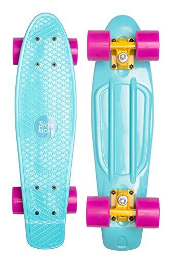 Retro Skateboard (Ocean Teal)