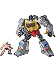 Transformers Toys Studio Series 86-06 Leader Class The Transformers: The Movie 1986 Grimlock and Autobot Wheelie Action Figure - Ages 8 and Up, 8.5-inch