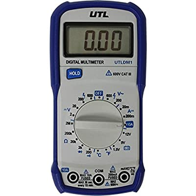 UEI Test Instruments - 600V Ranging Digital Multimeter with Temperature