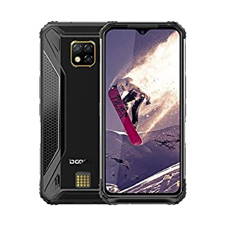"""DOOGEE S95 PRO 4G Rugged Cell Phones Unlocked, IP68 Waterproof Dropproof Rugged Smartphones,Helio P90 Otca-core 8GB+128GB 6.3"""" FHD+ Screen Android 9.0 5150mAh Battery Wireless Charge Rugged Phone"""