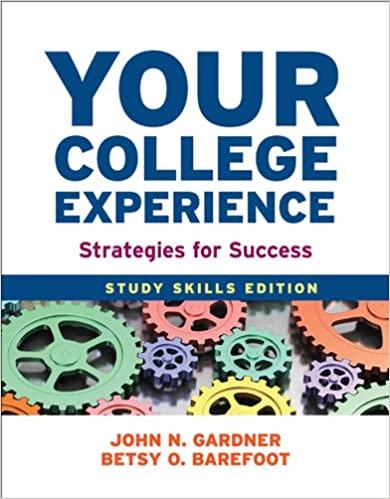 Amazon.com: Your College Experience: Study Skills Edition ...
