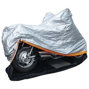 Alpin 78580 - Funda para motocicleta con cremallera (tamaño XL)