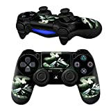 MODFREAKZ Pair of Vinyl Controller Skins - Snakes and Guns Cobra Man for Playstation 4