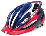 Giro Pneumo Cycling Helmet (Blue/Red, Medium)