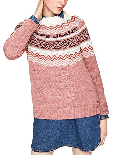 Pepe Rosso Pink Sweater Jeans Alina rRxCqrpwI