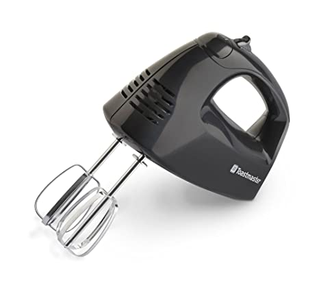 Amazon.com: Toastmaster TM-201HM 125-Watt Hand Mixer, Black ...