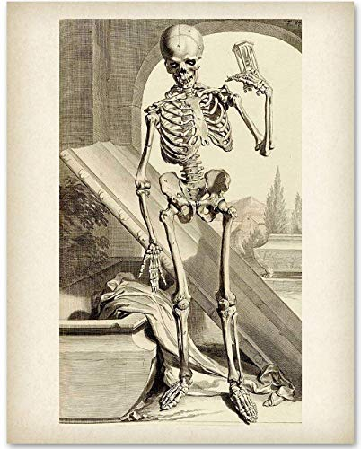 Death Comes in Time - 11x14 Unframed Art Print - Makes a Great Gift Under $15 for Gothic Culture -
