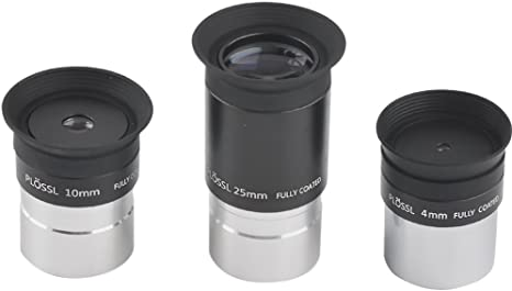 25mm 1.25inch Multi-Coated Plossl Telescope Eyepiece-4-element Plossl Design