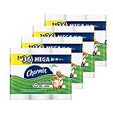 Charmin Ultra Gentle Toilet Paper, 36 Mega Rolls (Equal to 144 Regular Rolls)
