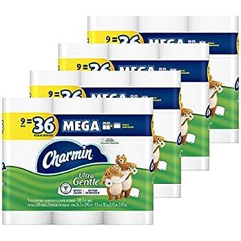 Amazon Com Charmin Sensitive Toilet Paper 12 Big Rolls