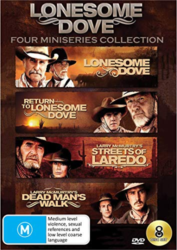 Lonesome Dove - 4 Miniseries Collection (Lonesome Dove/Return to Lonesome Dove/Streets of Laredo/Dead Man's Walk)