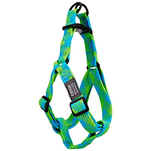 Cesar Millan Step-in Harness, Small, 10-14 inches, Blue (Harness Illusion)